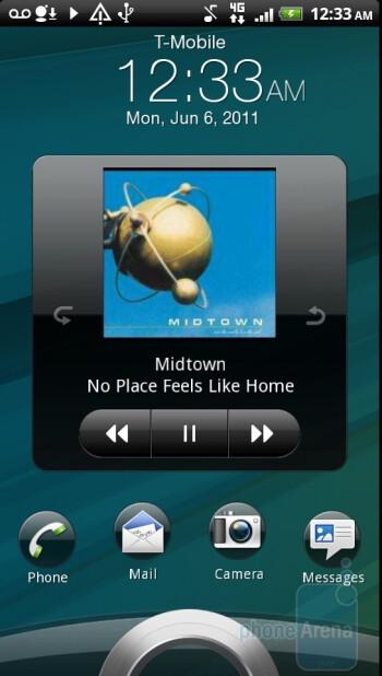 Music player of the HTC Sensation - HTC Sensation vs Samsung Galaxy S II