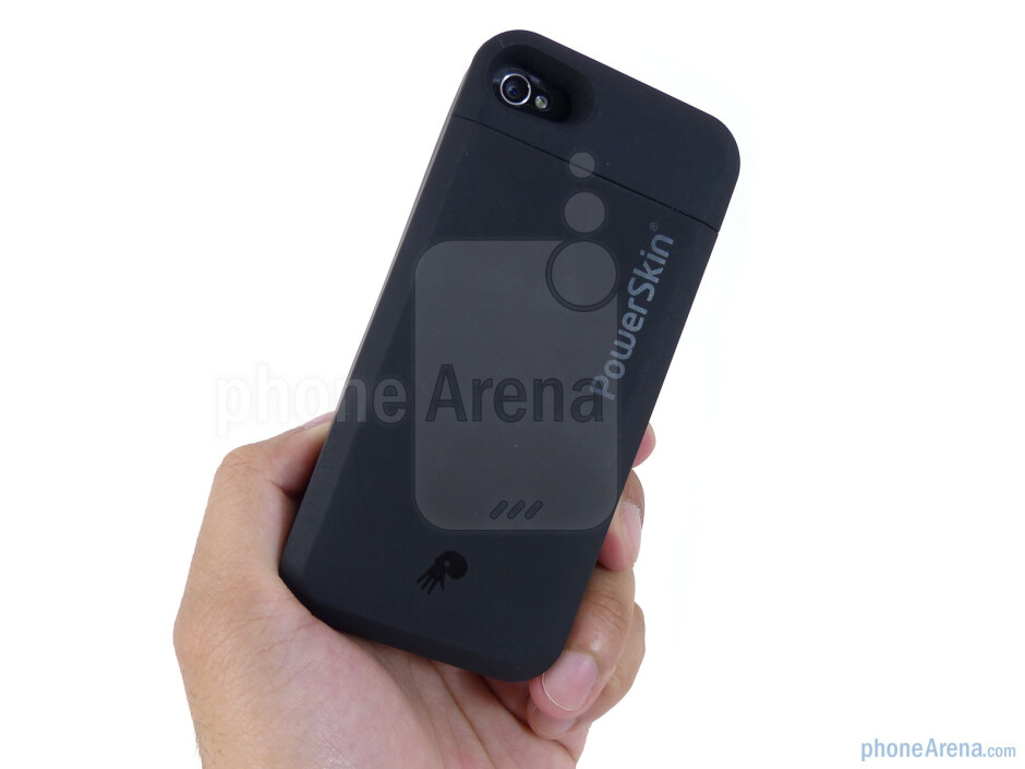 The PowerSkin case offers some level of shock absorption, protection, and a clean overall look - PowerSkin iPhone 4 Case Review