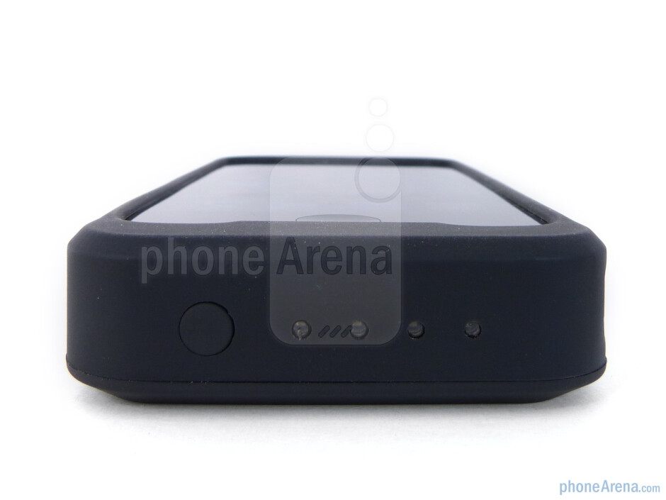 LEDs on the bottom edge - PowerSkin iPhone 4 Case Review
