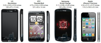 LG Revolution vs HTC ThunderBolt