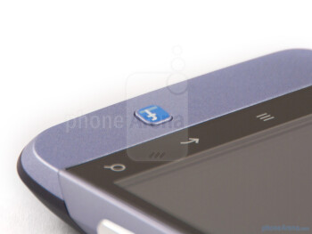 The Facebook button - HTC Salsa Review
