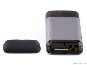 Battery cover - HTC Salsa Review
