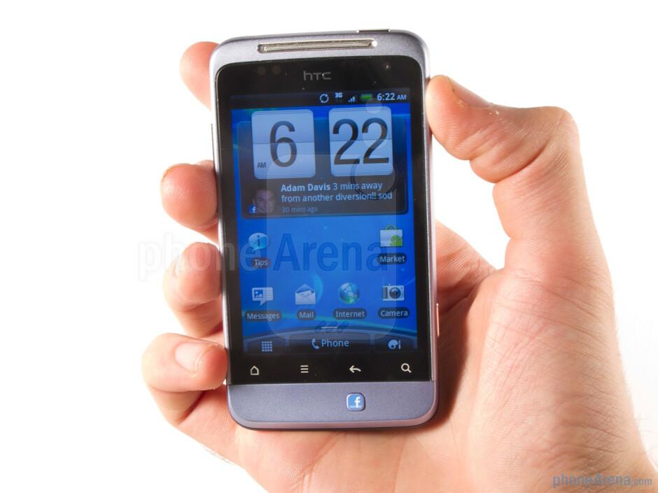 The HTC Salsa is well built - HTC Salsa Review