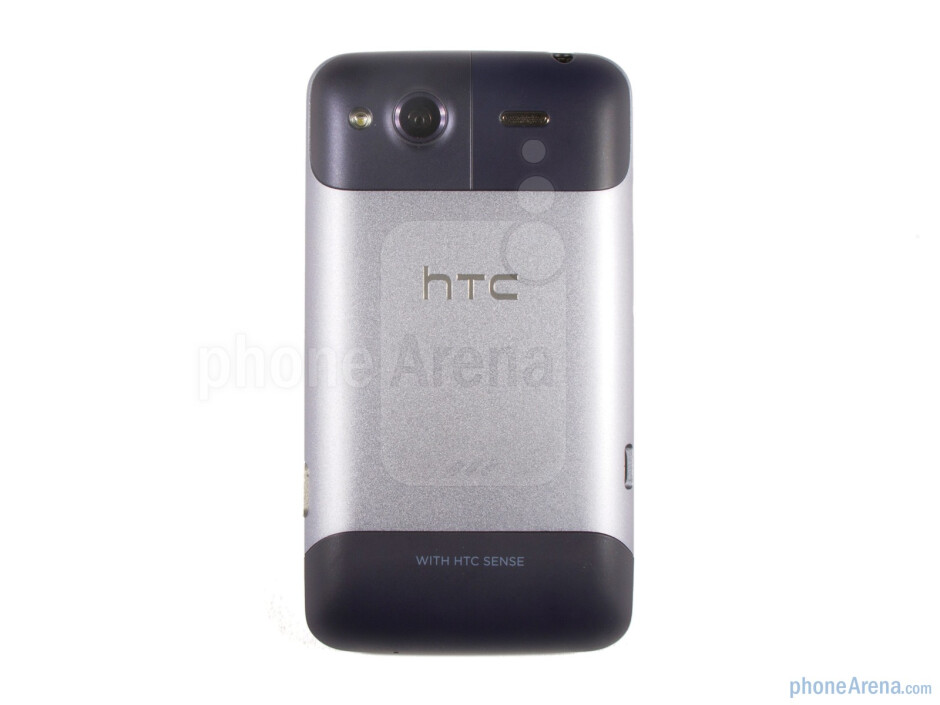 Back - HTC Salsa Review