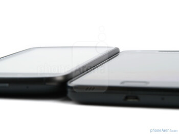 The HTC Sensation (Left) and the Samsung Galaxy S II (Right) - HTC Sensation vs Samsung Galaxy S II
