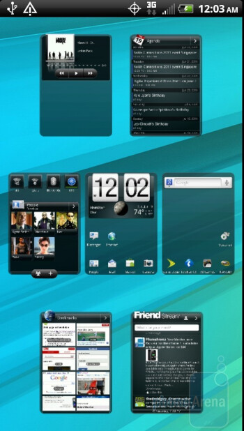 The HTC EVO 3D has Sense 3.0 UI running on top of Android 2.3.3 Gingerbread - HTC EVO 3D Review