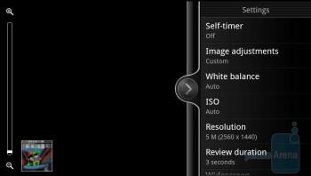 HTC EVO 3D camera interface - Motorola Photon 4G vs. HTC EVO 3D