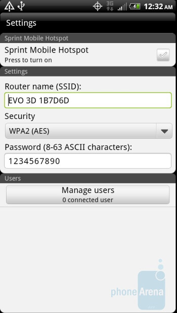Sprint Hotspot - Preloaded apps on the HTC EVO 3D - HTC EVO 3D Review