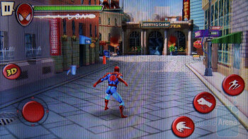 The Spider-Man 3D game - HTC EVO 3D Review