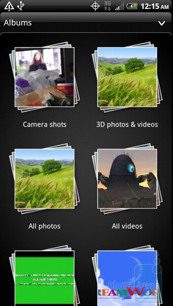 The gallery of the HTC EVO 3D - HTC EVO 3D Review