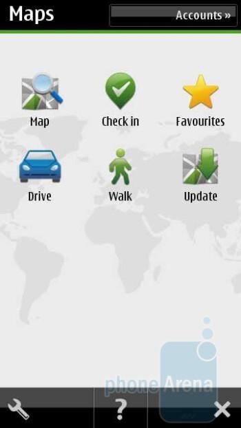 Navigation on the Nokia X7 - Nokia X7 Review