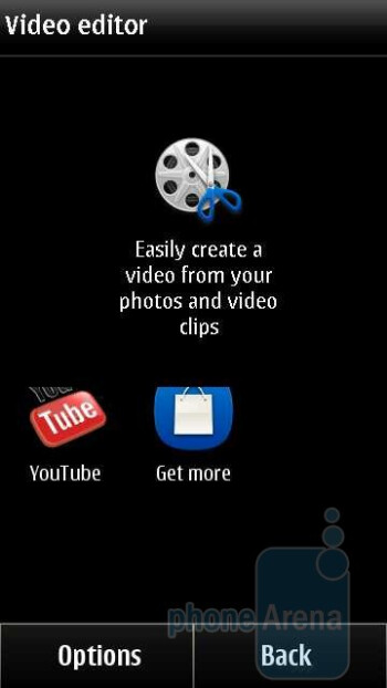 Video editor - Music player - Nokia X7 Review
