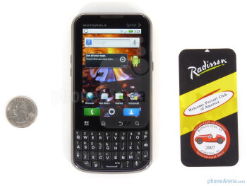 The sides of the Motorola XPRT - Motorola XPRT Review