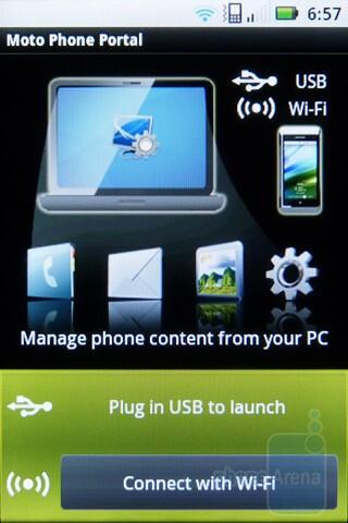 Motorola Phone Portal - Motorola XPRT Review