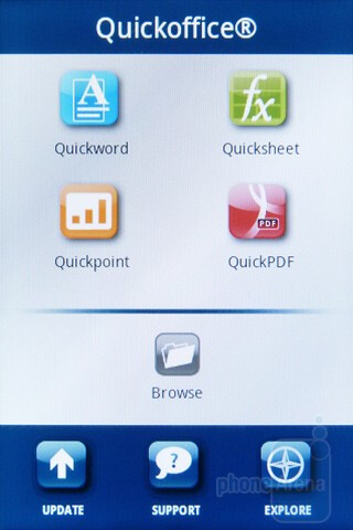 QuickOffice Pro - Motorola XPRT Review