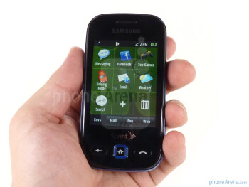 The Samsung Trender retains the same general side-sliding design as the Seek, but refines it some - Samsung Trender Review