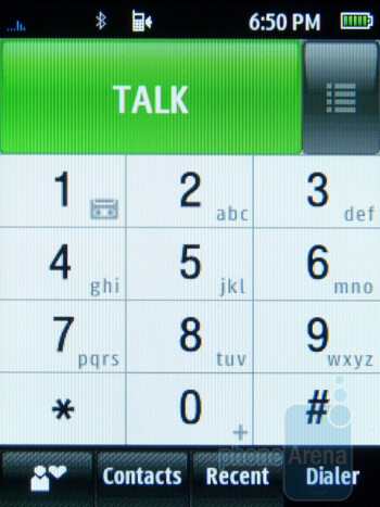 Dialer - Phonebook - Samsung Trender Review