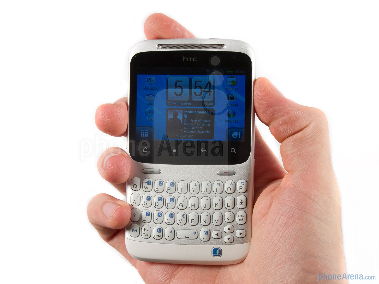 HTC ChaCha Review - PhoneArena