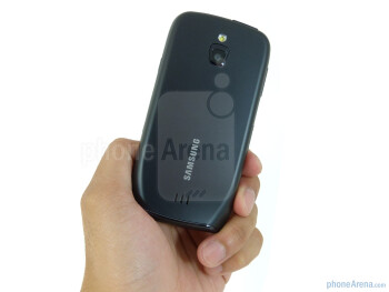 The Samsung Exhibit 4G is appreciable with its soft touch feel and acceptable solid construction - Samsung Exhibit 4G Review