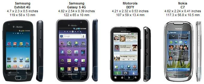 Samsung Exhibit 4G Review