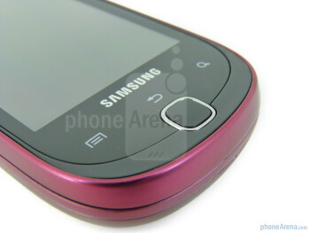 The front of the Samsung Gravity SMART - Samsung Gravity SMART Review