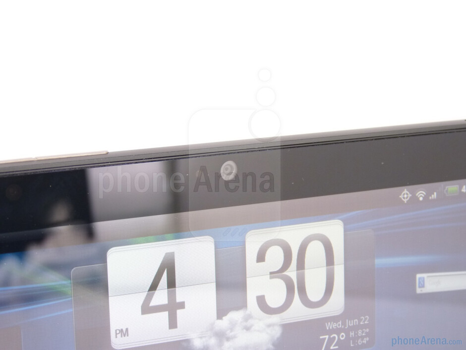 """Front-facing camera - The HTC EVO View 4G comes with a 7"""" display with 1024x600 resolution - HTC EVO View 4G Review"""