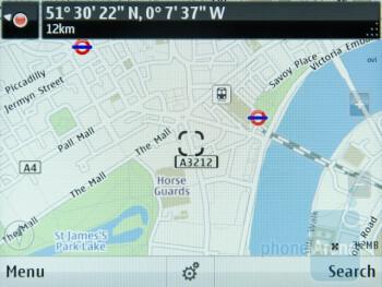 Ovi Maps - Nokia E6 Review