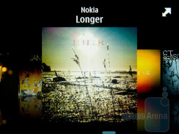 Music player - Nokia E6 Review