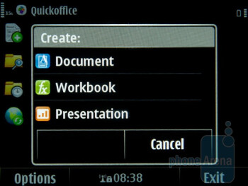 Productivity applications in Nokia E6 - Nokia E6 Review