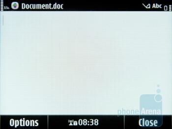 Productivity applications in Nokia E6 - Nokia E6 Review