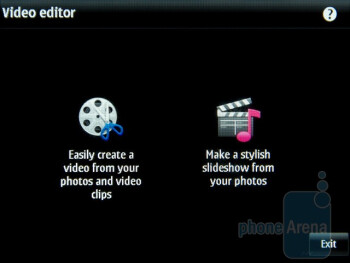 Image and video editing tools - Nokia E6 Review