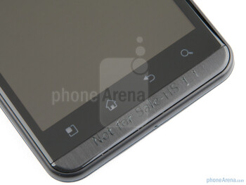 Capacitive buttons - LG Optimus 3D (Thrill 4G) Preview