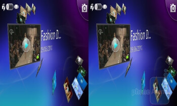 To view all 3D content, you can open the 3D gallery application - LG Optimus 3D (Thrill 4G) Review