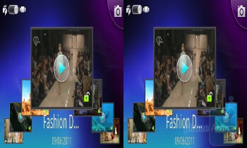To view all 3D content, you can open the 3D gallery application - LG Optimus 3D (Thrill 4G) Preview