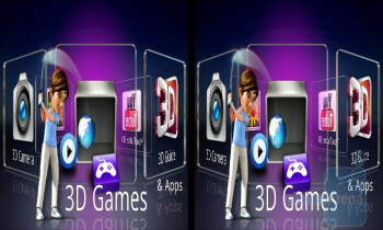The 3D Space view - LG Optimus 3D (Thrill 4G) Preview