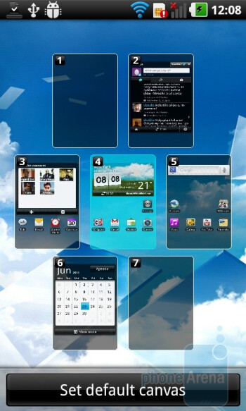 The LG Optimus 3D has Android 2.2 skinned with LG's Optimus UI - LG Optimus 3D (Thrill 4G) Preview