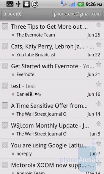 Gmail - Dell Venue Review