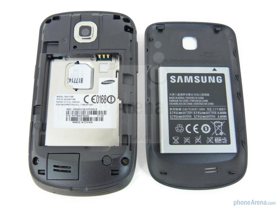 Back - Samsung Dart Review