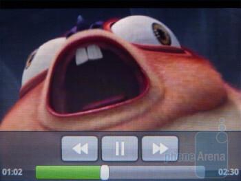 Video playback - Samsung Dart Review