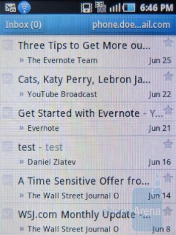 Gmail - Samsung Dart Review