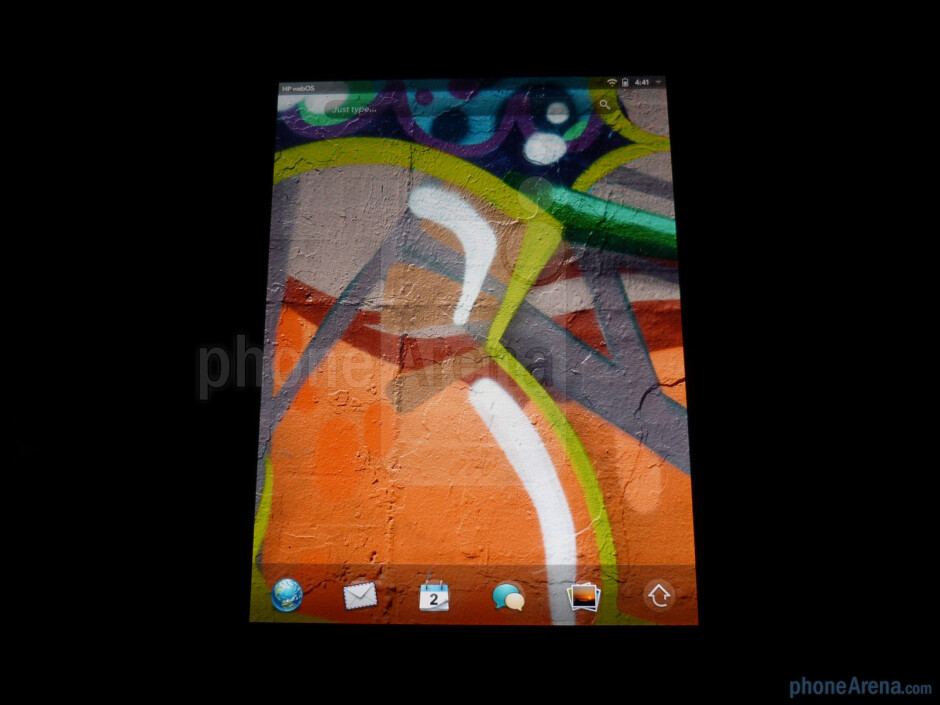"""The HP TouchPad boasts a 9.7"""" IPS display - HP TouchPad Review"""