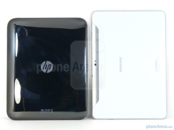 HP TouchPad (left) andSamsung Galaxy Tab 10.1 (right) - HP TouchPad vs Samsung Galaxy Tab 10.1