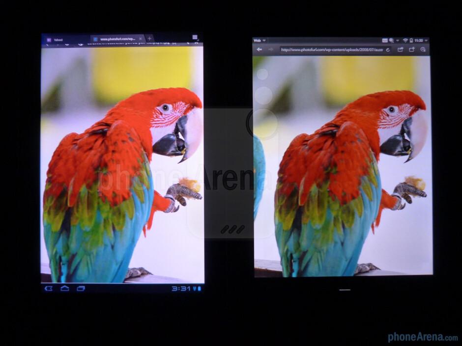 HP TouchPad vs Samsung Galaxy Tab 10.1