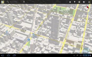 Google Maps on the Samsung Galaxy Tab 10.1 - HP TouchPad vs Samsung Galaxy Tab 10.1