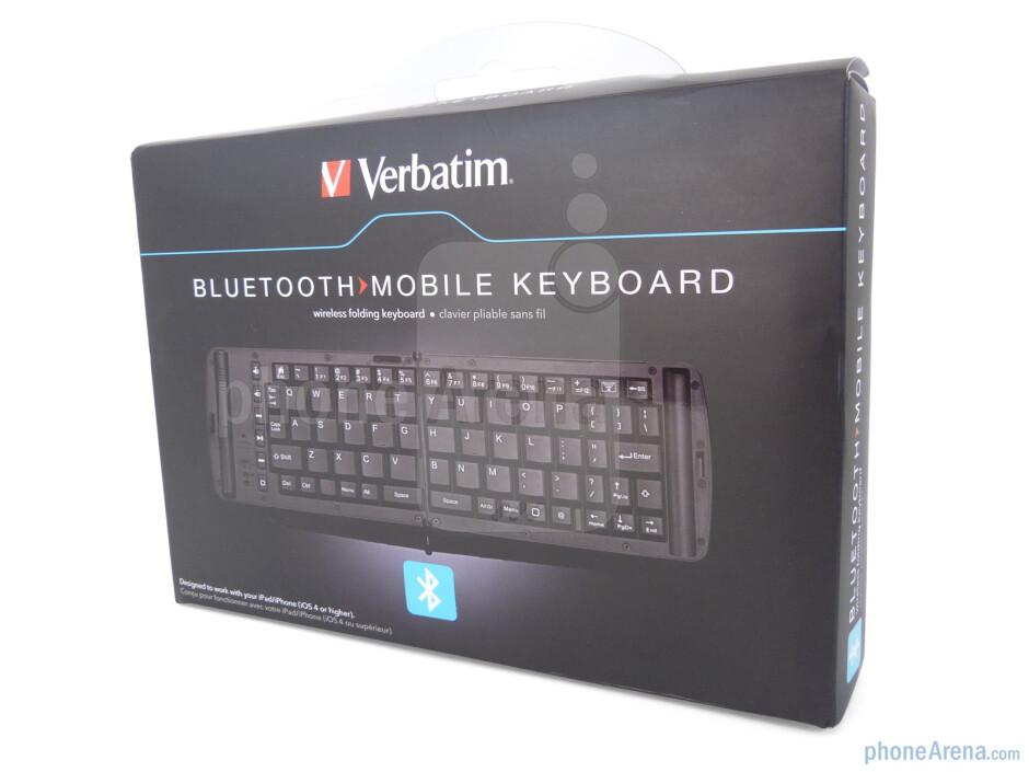 Verbatim Wireless Bluetooth Mobile Keyboard package and contents - Verbatim Wireless Bluetooth Mobile Keyboard Review