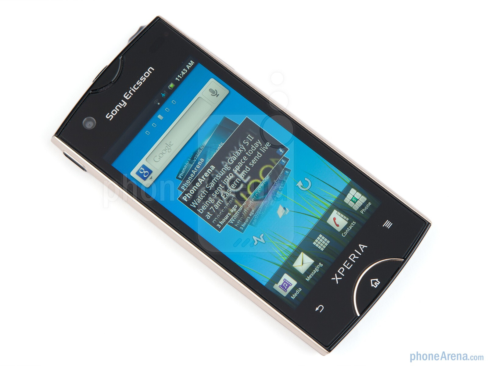 sony ericsson xperia ray preview. Black Bedroom Furniture Sets. Home Design Ideas