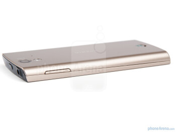 Right side - Sony Ericsson Xperia ray Preview