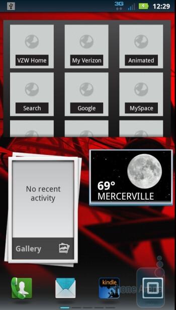 The  Motorola DROID 3 runs a new MOTOBLUR UI on top of Android 2.3.4  Gingerbread - Motorola DROID 3 vs Motorola DROID X2