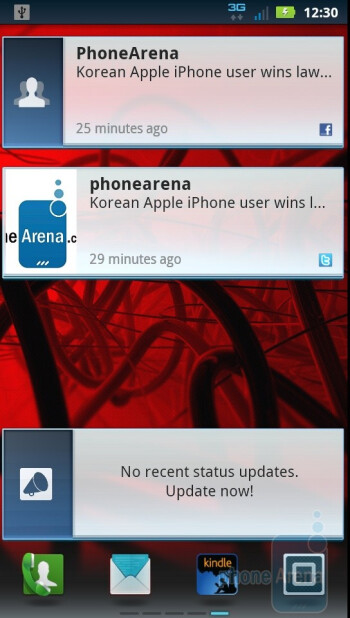 The Motorola DROID 3 runs a new MOTOBLUR UI on top of Android 2.3.4 Gingerbread - Motorola DROID 3 Review