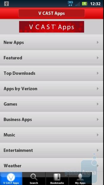 V CAST Apps - VZ apps - Motorola DROID 3 Review